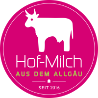 Hof-Milch Logo mit Jahreszahl PNG